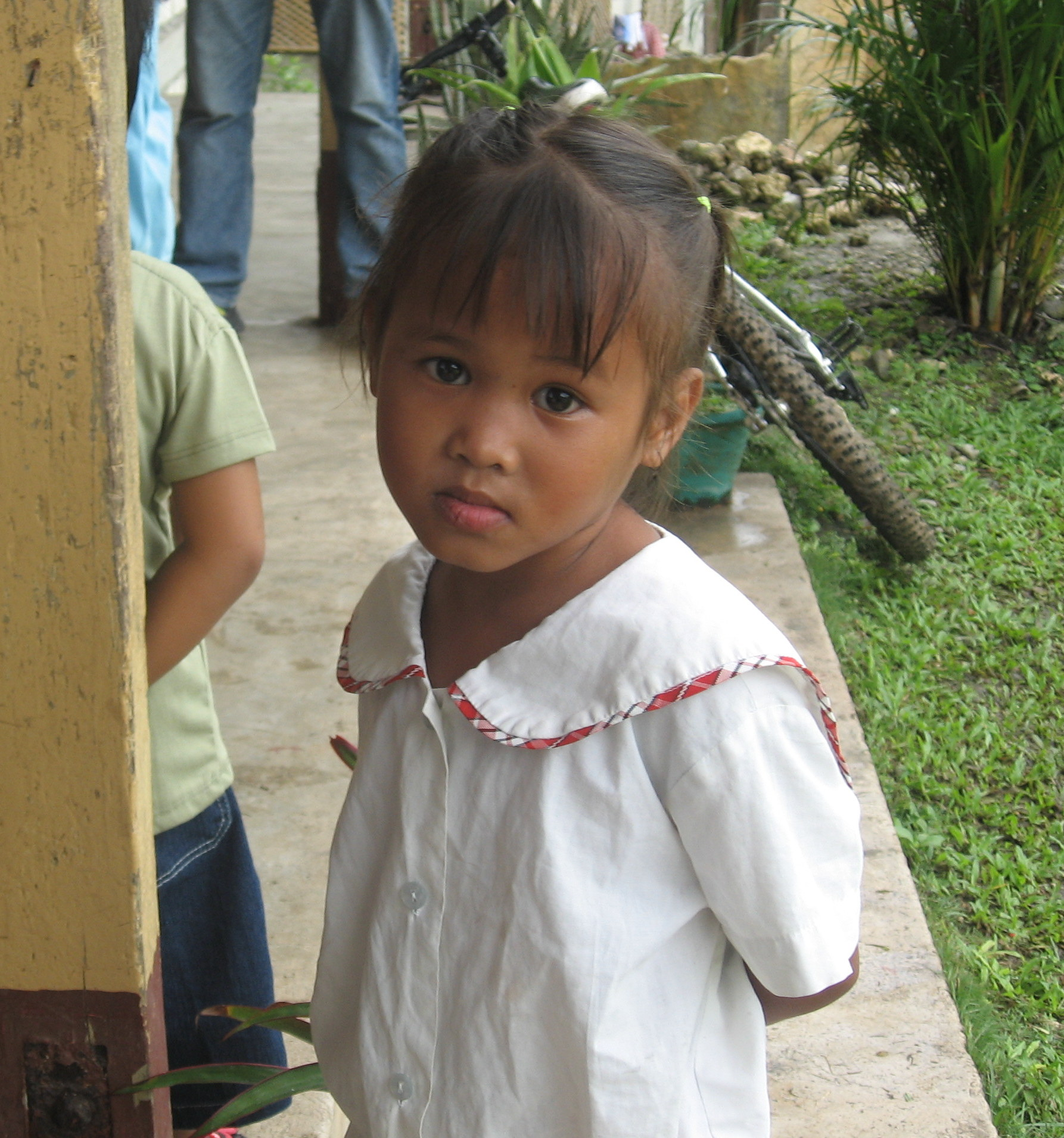 young girl philippines