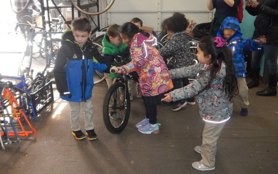 Tires, Tykes, and Bikes