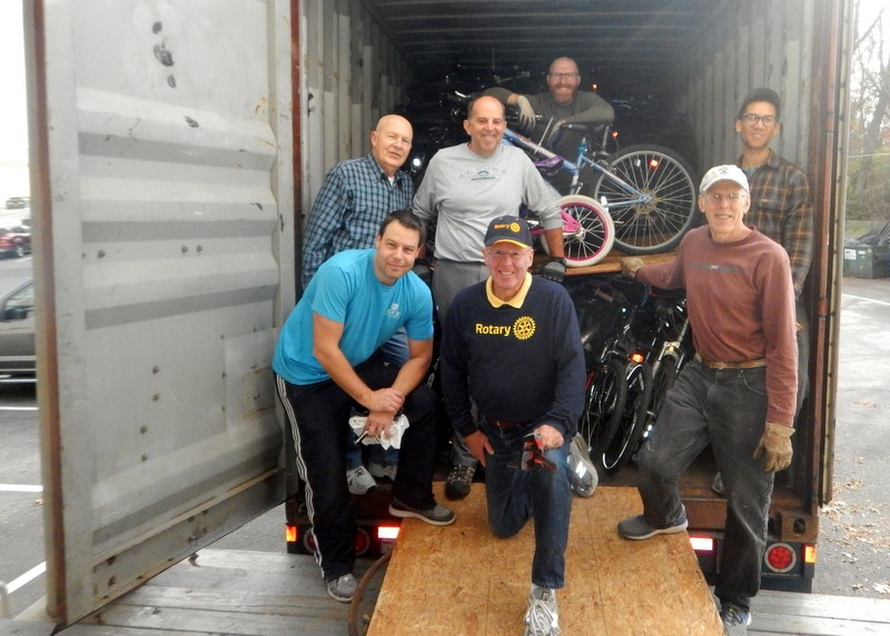 Rotary Connects the World with Bikes